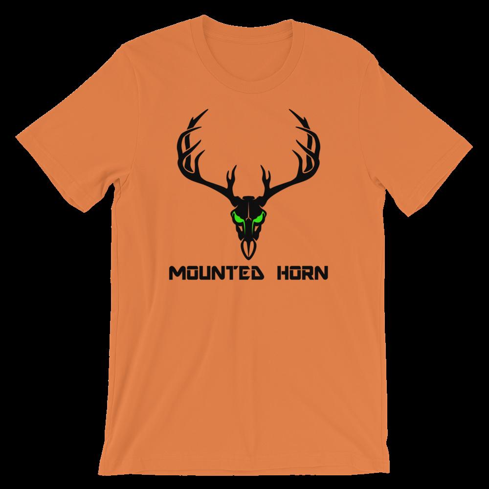 Mule Skull Short-Sleeve Unisex T-Shirt