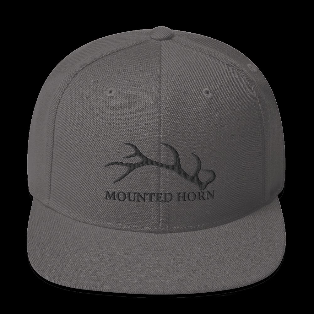 Elk Antler Snapback Hat