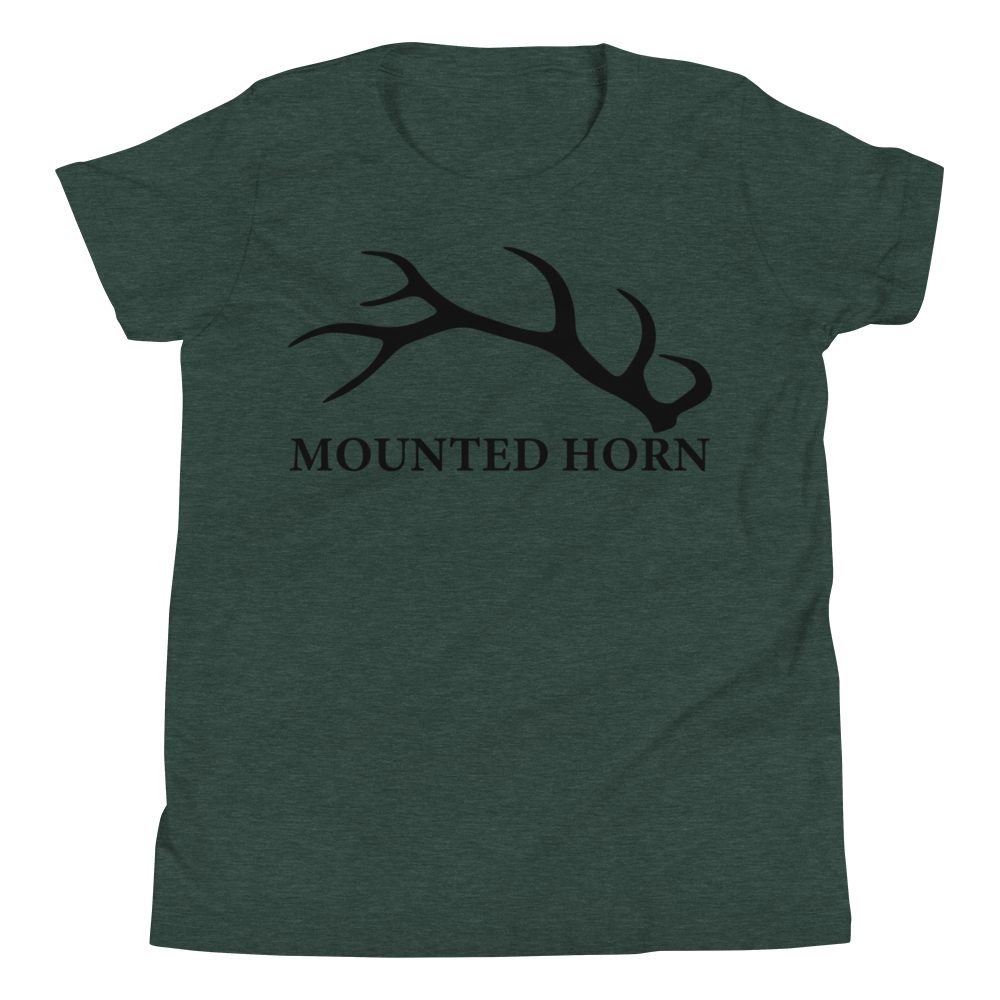 Elk Antler Youth Short Sleeve T-Shirt