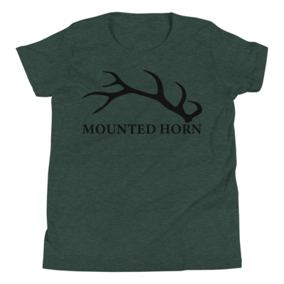 Elk Antler Youth Short Sleeve T-Shirt