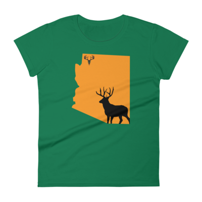 AZ State Mule Deer Women's short sleeve t-shirt
