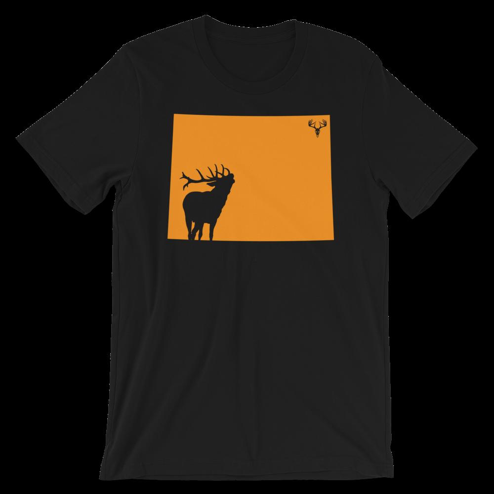 Wyoming State Elk Short-Sleeve Unisex T-Shirt