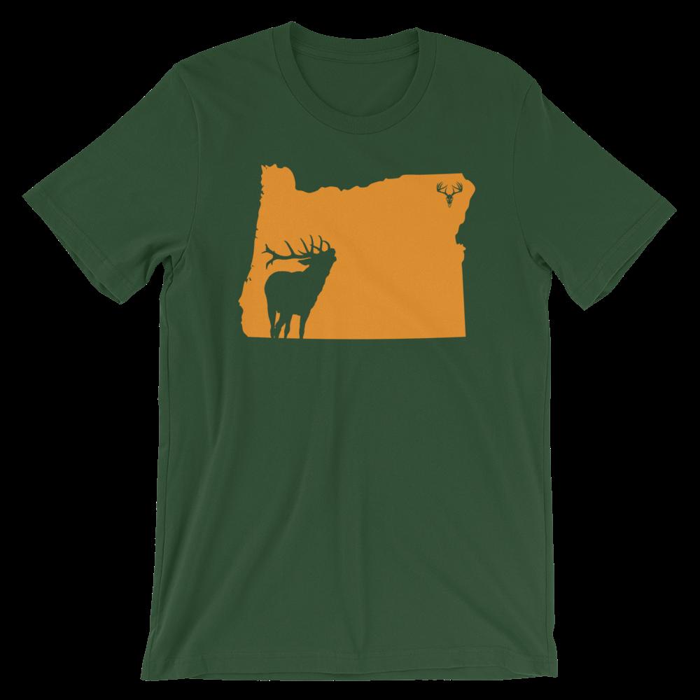Oregon State Elk Short-Sleeve Unisex T-Shirt