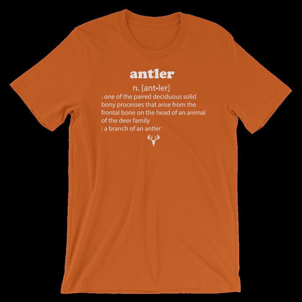 Antler Meaning Short-Sleeve Unisex T-Shirt