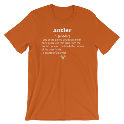 Antler Meaning Short-Sleeve Unisex T-Shirt