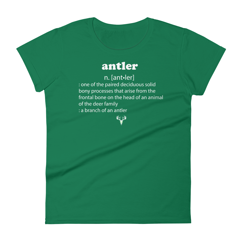 Antler Meaning Women's short sleeve t-shirt