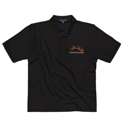 Elk Antler Men's Premium Polo