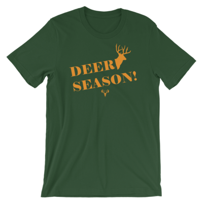 Deer Season Short-Sleeve Unisex T-Shirt