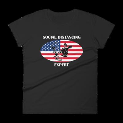 Social Distancing Expert Women's short sleeve t-shirt