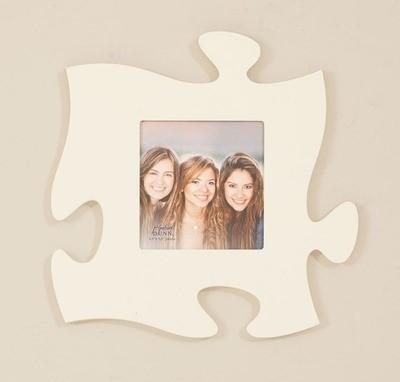 Cream Puzzle Piece