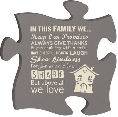 In This Family Puzzle Piece