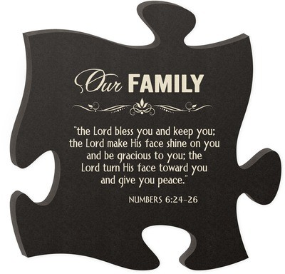 The Lord Bless You Puzzle Piece