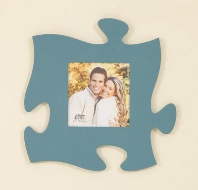 Blue Puzzle Piece