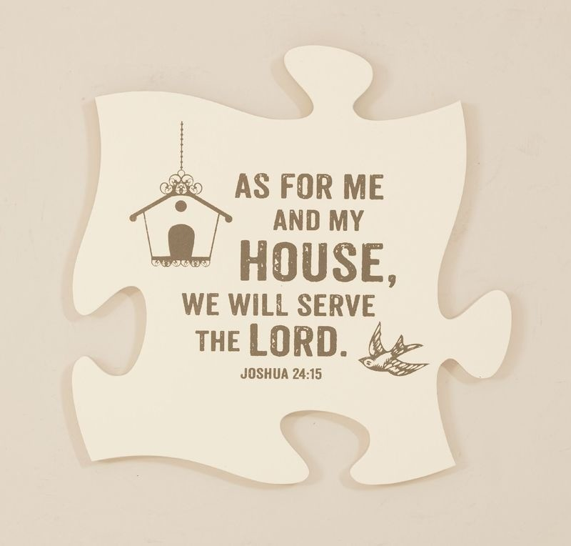 As For Me Puzzle Piece