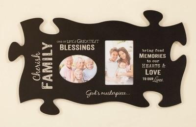 Cherish Family Puzzle Piece