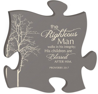 The Righteous Man Puzzle Piece