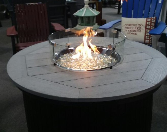 Poly Fire Pit Table