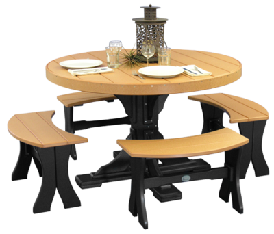 Poly 4' Round Table Set #2