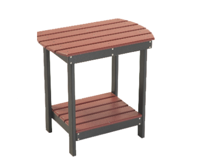 Poly Balcony End Table - Counter Height
