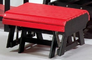Poly Gliding Footrest (Metal Strap Style)