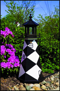 """Wood 18"""" Cape Lookout Lighthouse"""