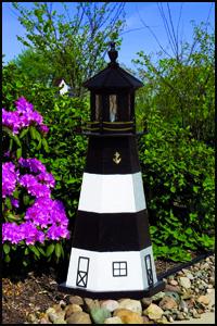 """Wood 18"""" Fire Island Lighthouse"""