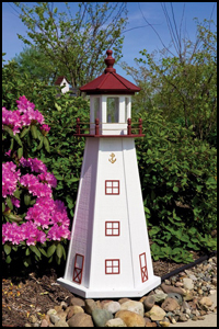 "Wood 18"" Marblehead Lighthouse"