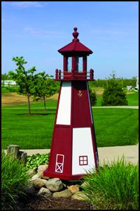 Wood 2' Cape Henry Lighthouse