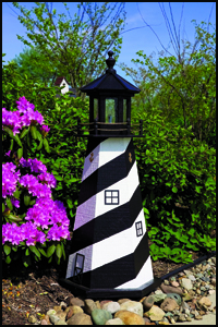 """Wood 18"""" Cape Hatteras Lighthouse"""