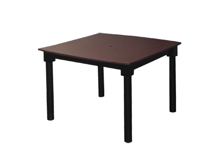 Poly 4' Solid Top Table