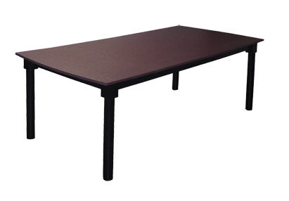 Poly 8' Solid Top Table