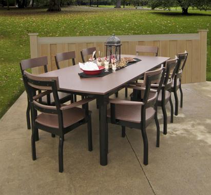 Backyard Memories 8' Solid Table Sets