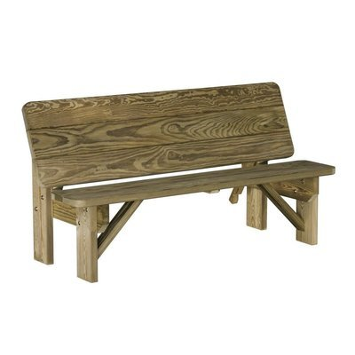 Wood Bench/Table Combp