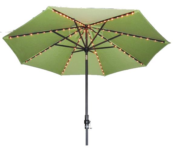 9' Single Starlight Martket Umbrella