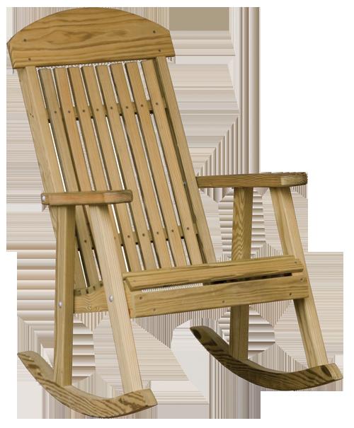 Wood Porch Rocker