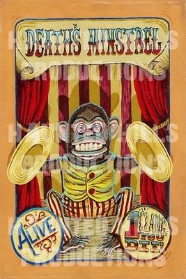 Deaths Minstrel Vinyl Poster