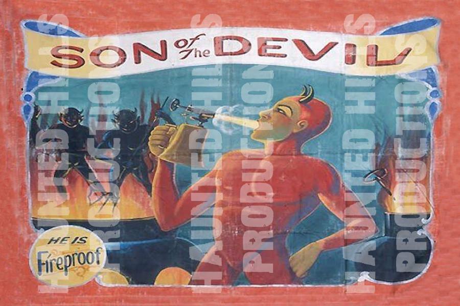Son of the Devil Vinyl Poster