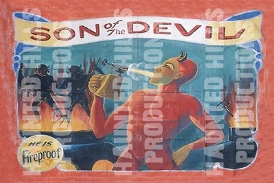 Son of the Devil Vinyl Poster