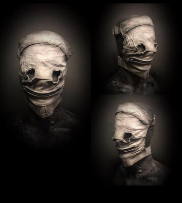 Zipped Patient Mask