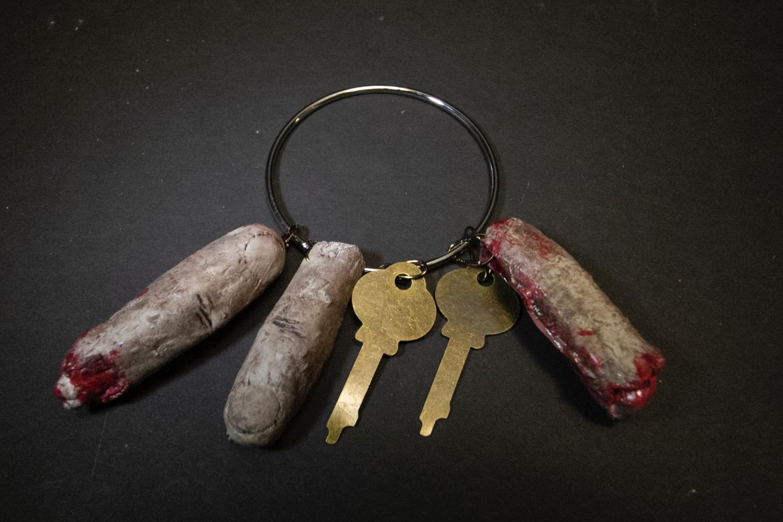 Trophy Key Ring