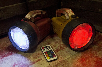 Color Changing Flashlight (Set of Four)