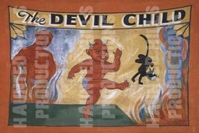 Devil Child Vinyl Poster