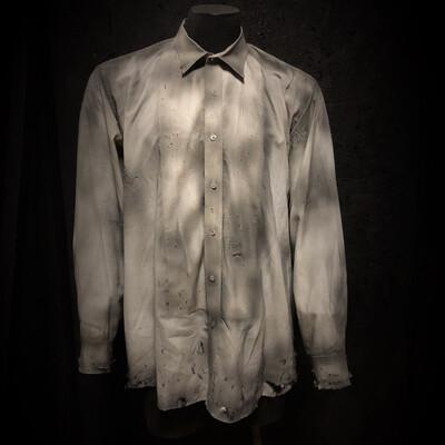 Vintage Button-up Dress Shirt