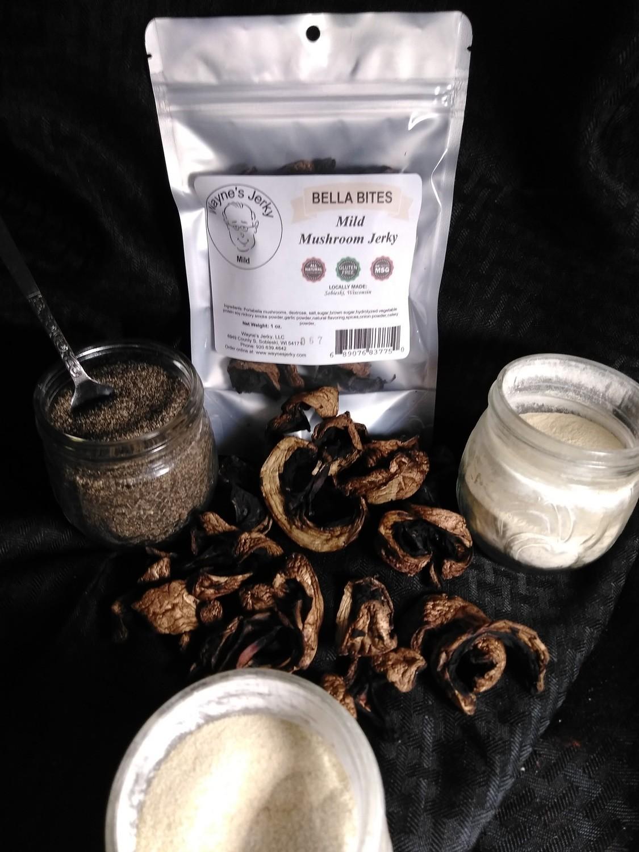 Big Bella Mushroom Jerky 12 Pack