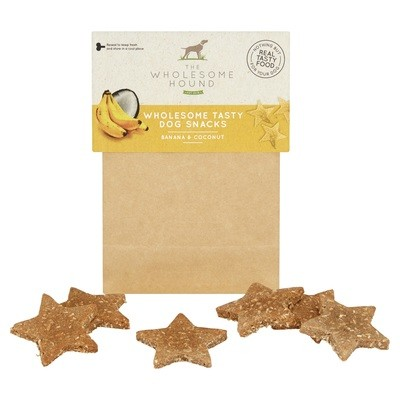 Banana and Coconut Wholesome Dog Snacks