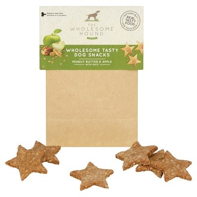 Apple and Peanut Butter Wholesome Dog Snacks