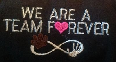 Team Forever Embroidery Design