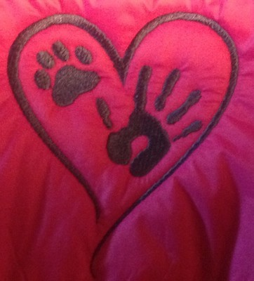 Pet Paws Heart