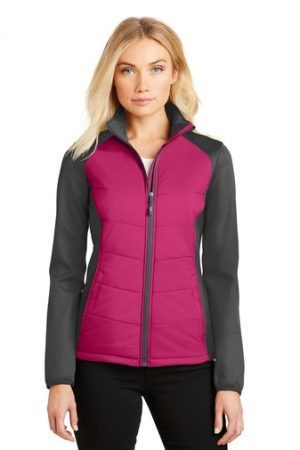 L787 Port Authority® Ladies Hybrid Soft Shell Jacket