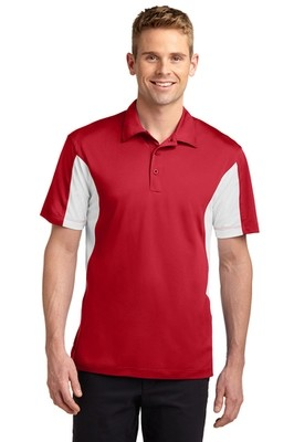 ST655 Sport-Tek® Side Blocked Micropique Sport-Wick® Polo